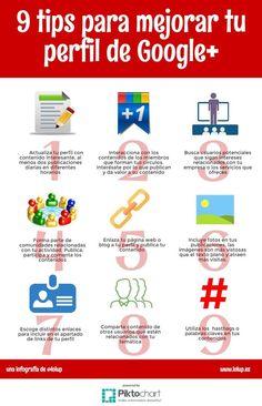 El Espacio Geek: 9 Tips para mejorar tu perfil de Google +
