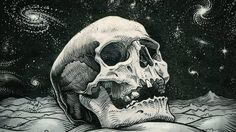 Image result for skull digital art