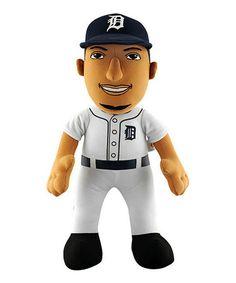 Loving this Detroit Tigers Miguel Cabrera Plush Toy on #zulily! #zulilyfinds