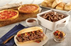 I could die happy if only I had.Italian Beef Kit and Two Lou Malnatis Deep Dish Pizzas Lou Malnati, Great Recipes, Favorite Recipes, Italian Beef, Deep Dish, Yummy Treats, Online Shopping, Chicago, Tasty