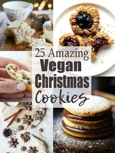 If you're looking for vegan Christmas cookies this is the right place for you! All of these recipes are vegan and a lot of them are also gluten-free and low in sugar. Find more vegan Christmas recipes at veganheaven.org
