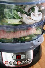 sio-smutki! Monika od kuchni: Indyk z warzywami (wszystko gotowane na parze) Meal Prep, Meals, Chicken, Food, Diet, Meal, Essen, Meal Planning, Yemek