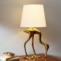 HomeSpoonbill Table Lamp never fails to make me smile.