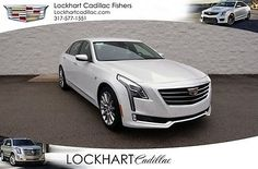 2017 Cadillac Other 3.6L Luxury 2017 Cadillac CT6 3.6L Luxury 2 Miles Crystal White 4D Sedan  3.6L 6-Cylinder Fl