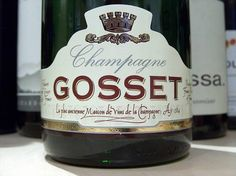 Gosset Brut is one of the best champagnes you will try. One of our favourites as well. Currently available in half bottles.  #gosset #champagne #champagnegosset