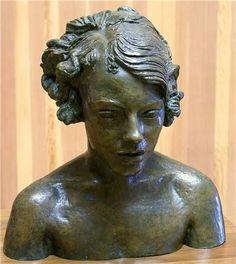 Jacob Epstein - bust of Meum Stewart