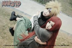 Naruto cosplay- Minato and Kushina *kawaii!*