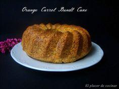 EL PLACER DE COCINAR: ORANGE CARROT BUNDT CAKE