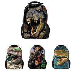 Whosepet 3D Animal Dinosaur Design Backpack Rucksack Satchel Shoulder Bag  Men  BIGCAR  Backpack Animal bd41e7af585bd