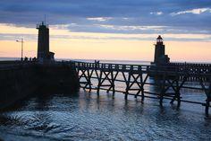 Découvrez le port de Fécamp en Normandie !  #fecamp #normandie #seinemaritime #albatre #cotealbatre #phares