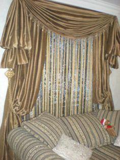 Modelos de cortinas elegantes para salas imagui for Cortinas clasicas elegantes