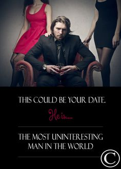 Most Uninteresting Man In The World Single by DesignDivergent