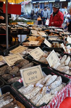 Les Halles, The Market of Dijon and the gourmet lifestyle of France.