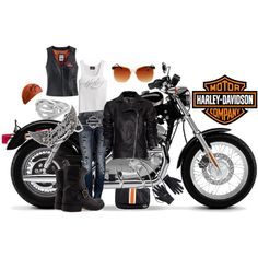 Harley Davidson and Miss Me Jeans. This is so me.❤