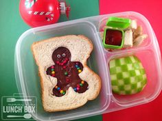 mommy + me lunch box: Jolly Holiday Hop- bento box Christmas ideas!