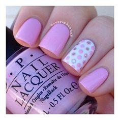 Stylish Polka Dot Nail Art Designs You Won't Miss - Page 2 of 54 - Nail Polish Addicted Diy Nails, Cute Nails, Pretty Nails, Dot Nail Art, Polka Dot Nails, Polka Dots, Fabulous Nails, Gorgeous Nails, Cute Nail Designs