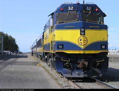 RailPictures.Net Photo: ARR P32 Alaska Railroad EMD NPCU at Anchorage, Alaska by Larry Clements