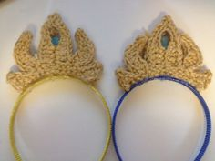 Elsa's Crown ~ Free Crochet Pattern & Tutorial | Cogaroo Crafts