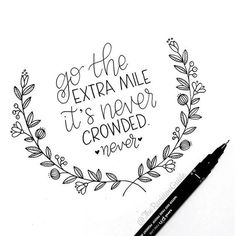 If you don't like crowds..... #GoTheExtraMile #NeverCrowded