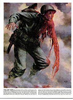 Tom Lea - combat artist on Peleliu