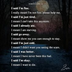 Depression With Dementia Key: 1829754799 Im Fine Quotes, Im Sorry Quotes, It Will Be Ok Quotes, Sad Love Quotes, True Quotes, Qoutes, Late Night Quotes, Late Night Thoughts, Deep Thoughts