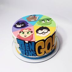 Teen Titans Go, Boy Birthday, Birthday Parties, Birthday Cake, Torta Pj Mask, Godzilla Birthday, Shopkins Cake, Bolo Minnie, Batman Cakes