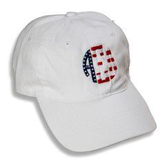 10341316085 Alpha Xi Delta Patriotic Baseball Hat from Sassy Sorority