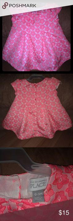 Little girl's dress Adorable little girl's dress. Only wore once. Great condition. Has lace liner underneath. From smoke free home. Children's Place Dresses