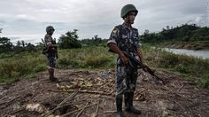 At least five ethnic Rohingya were killed and several injured after troops clashed with insurgents in Myanmar's conflict-torn western state. Mrauk U, Human Rights Watch, Armed Conflict, Insurgent, Troops, At Least, Death, Army, Bagel Basket