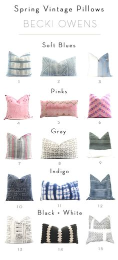 9 Stupefying Unique Ideas: Decorative Pillows Diy How To Make decorative pillows with buttons living rooms.Decorative Pillows With Words Wedding Gifts decorative pillows combinations cushion covers.How To Make Decorative Pillows Fabrics. White Decorative Pillows, Colorful Pillows, Decorative Pillow Covers, Trendy Home Decor, Affordable Home Decor, Cheap Home Decor, Vintage Pillows, Vintage Textiles, Room Rugs