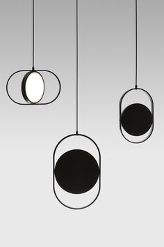 This beautifully minimal and elegant series of reversible pendant lights is conceived by Helsinki-based award-winning designerElina Ulvio, and was i...