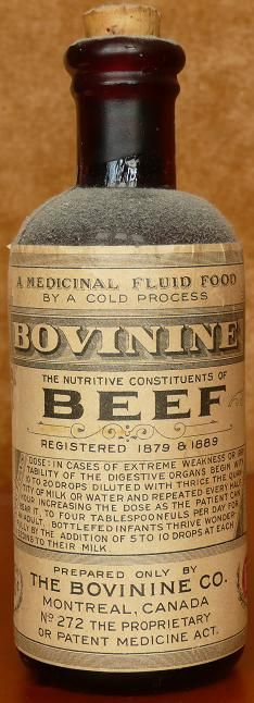 Bovinine: The Nutritive Constituents of the Blood of Beef
