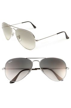 Ray-Ban 58mm Aviator Sunglasses available at #Nordstrom