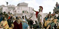 Billedresultat for athens street life ancient