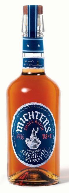 Michter's US 1 American Whiskey.A Mysterious Whiskey.| spiritedgifts.com Rye Whiskey, Bourbon Whiskey, Whiskey Wednesday, Wine And Liquor Store, Small Batch Bourbon, Whisky Bar, Buy Wine Online, Single Malt Whisky, Hot Sauce Bottles