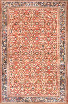 Antique Persian Sultanabad Carpet 47267 Main Image - By Nazmiyal