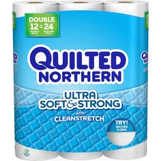 Quilted Northern Ultra Soft and Strong Toilet Paper, Bath Tissue, 12 Double Rolls         ** Click image for more details. (This is an affiliate link) #PrimePantry