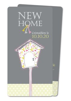 invitation cremaillere oiseau cremaillere rounded