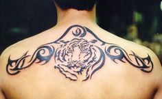 Image result for tribal back tattoo