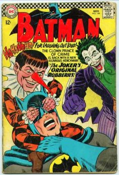 Batman 186 - Joker - Henchman - Criminal - Mischief - Midget - Murphy Anderson