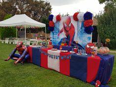Spiderman, Birthday Cake, Candy, Bar, Desserts, Food, Spider Man, Tailgate Desserts, Deserts