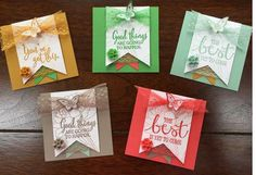 how to use stampin up triple banner punch - Google Search