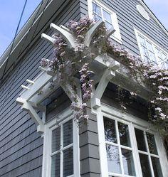 Traditional Exterior Trellis Design, Pictures, Remodel, Decor and Ideas