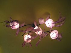HiiH Lights, the creative enterprise of two Portland artists who make extraordinary paper lights.