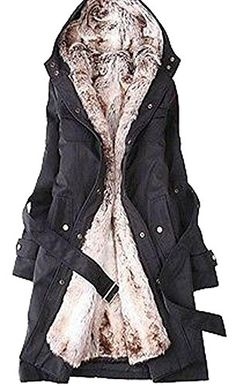 Lady Women Thicken Warm Winter Coat Hood Parka Overcoat Long Jacket Outwear ** Check out the image by visiting the link.