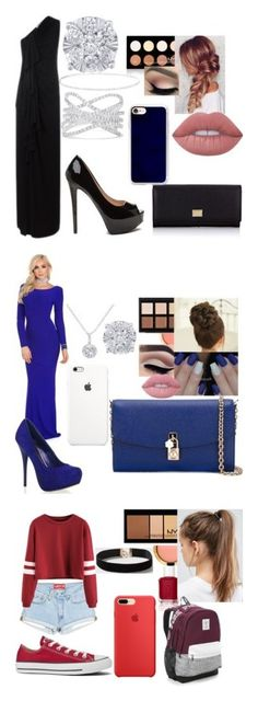 """Get the Look!: Presidential Edition"" by mads-p on Polyvore featuring Givenchy, NYX, Dolce&Gabbana, Lime Crime, Anne Sisteron, Effy Jewelry, Casetify, Anastasia Beverly Hills, EWA and Essie"