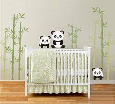 So if we have a little boy, SO want to use this decor - he will be a WFAM baby after all, so pandas are virtually a requirement ;)