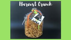 Harvest Crunch - the perfect snack to share with the fam or give as a gift!