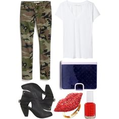 """""""The Girl Nation"""" by thegirlnation on Polyvore #thegirlnation #outfit #ideas #style #fashion #boots #ring #red #nails"""