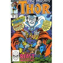 Thor #413. Vol1. Marvel Jan 1990. Dr. Strange. DeFalco, Frenz, Sinnott. VFN+
